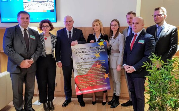 ODF welcomes persecuted Polish judges and prosecutors in Brussels