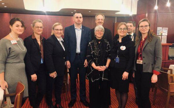 MEPs welcome Sakharov Prize winner Oleg Sentsov
