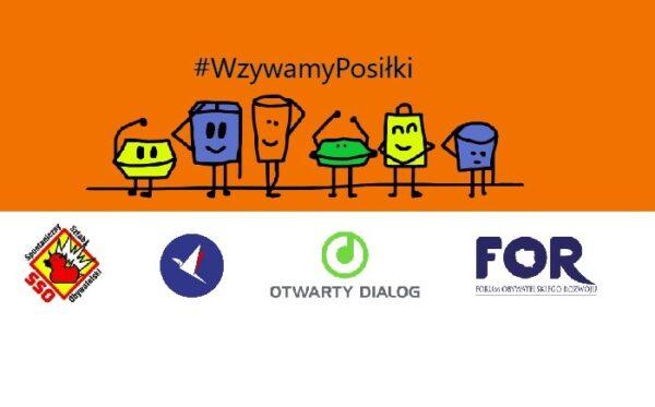 The #PosiłekDlaLekarza and #WzywamyPosiłki campaigns join forces!