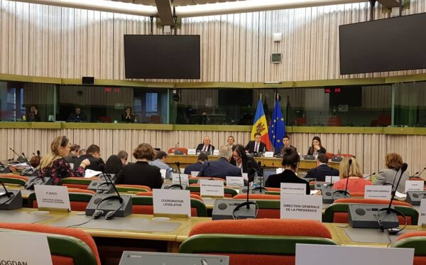 ODF in the EP in Strasbourg: the Fall of Sandu's Government in Moldova