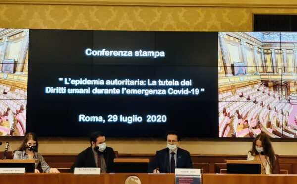 ODF and FIDU addresses the Italian Senate on the impact of COVID-19 on human rights
