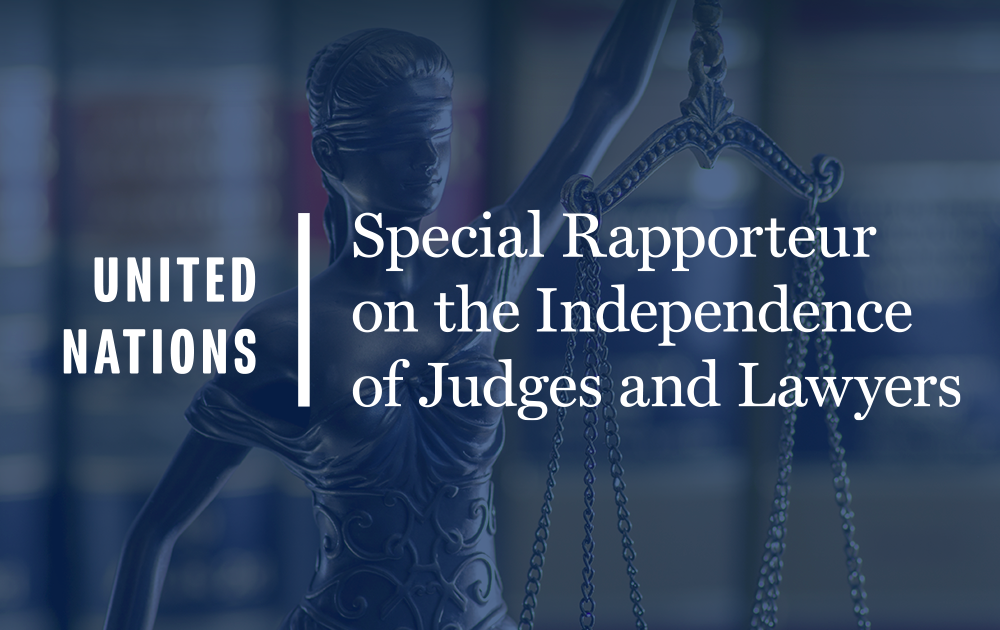 ODF's & Themis's input to the UN's Annual Report on the Independence of Judges and Lawyers