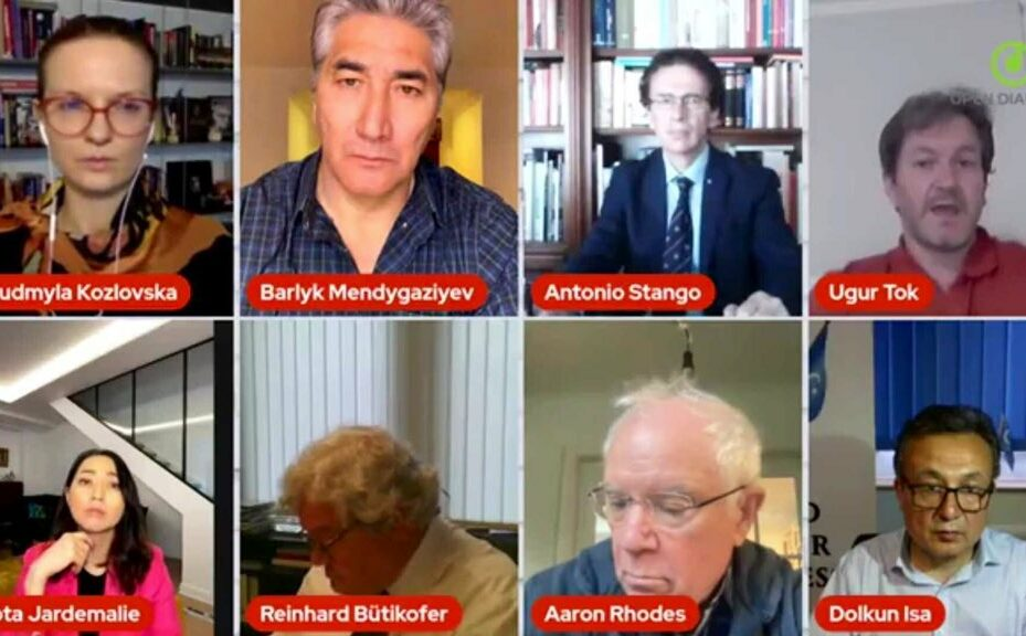 """""""Authoritarian countermeasures to targeted sanctions"""" – an online discussion with HRDs & MEPs"""