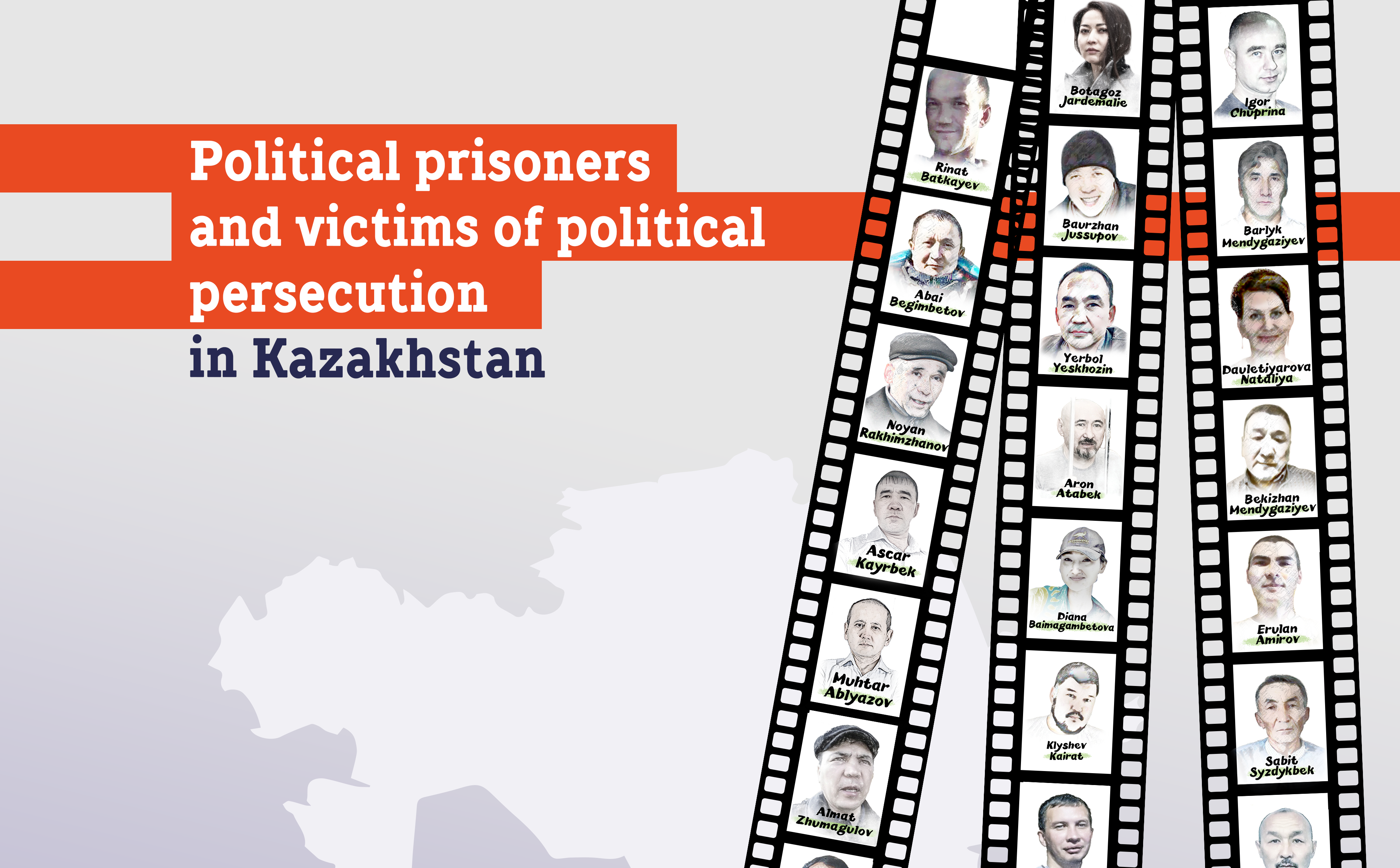 Political prisoners and victims of political persecution in Kazakhstan