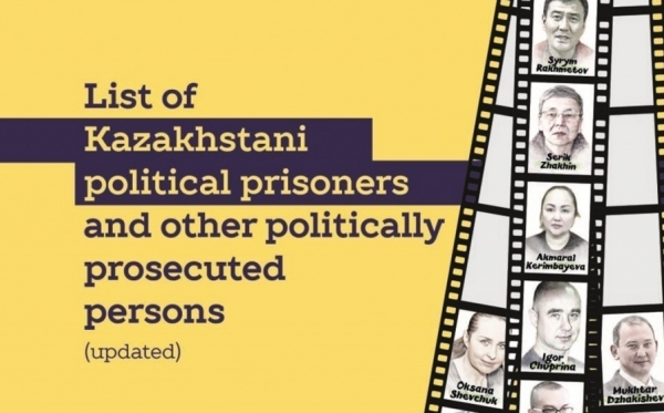 List of Kazakhstani political prisoners and other politically prosecuted persons (updated)
