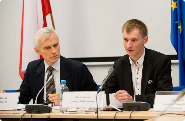 Marcin Święcicki, Bartosz Kramek
