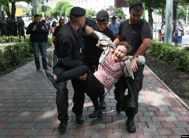 10 June 2019. Almaty. Photo: Reuters