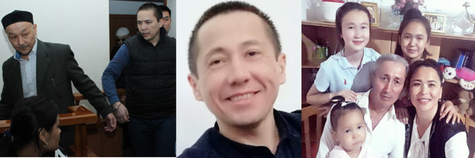 People sentenced to prison for criticising the authorities in social media: Kenzhebek Abishev, Almat Zhumagulov, Aset Abishev, Ablovas Dzhumayev, as well as Dzhumayev's wife Aigul Akberdieva, who is under investigation. Photos from personal archive.