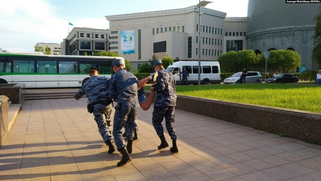 12 June 2019. Nur-Sultan. Photo: Asemgul Mukhitkyzy (RFE/RL)