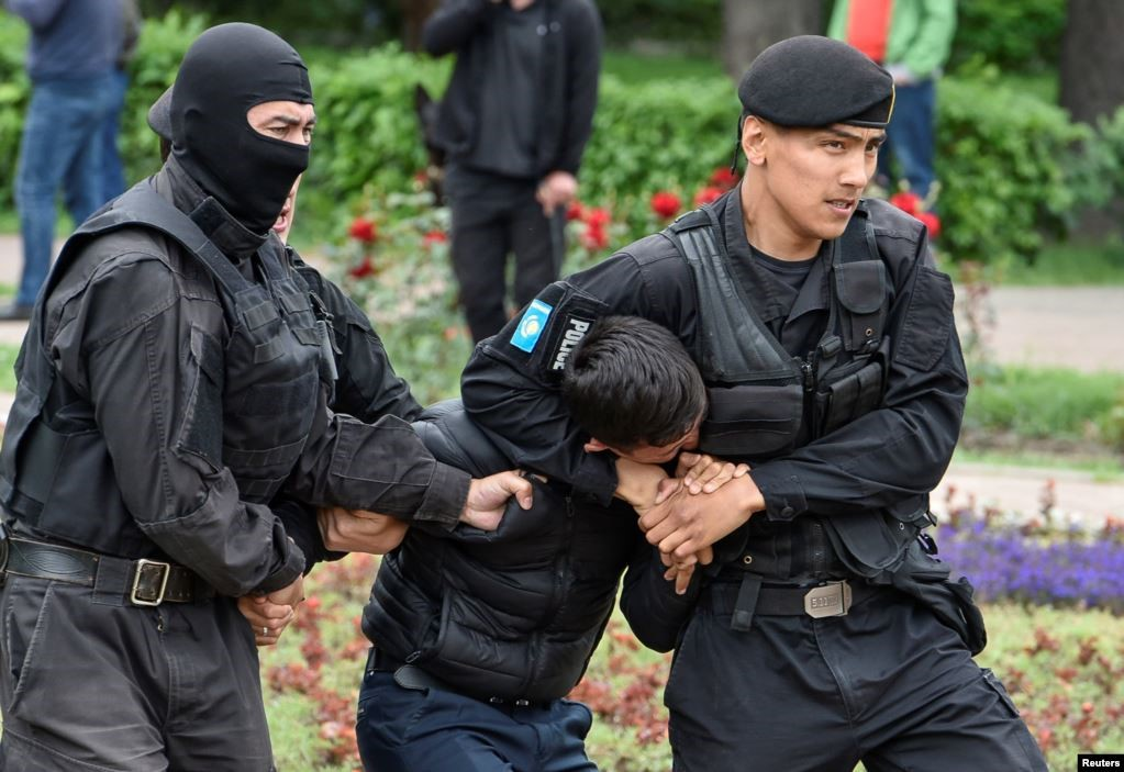 9 June 2019. Almaty. Photo: Reuters