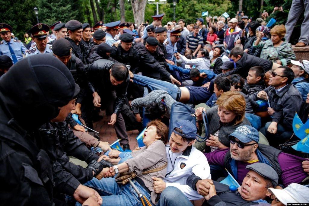 9 June 2019. Almaty. Photo: Petr Trotsenko (RFE/RL)