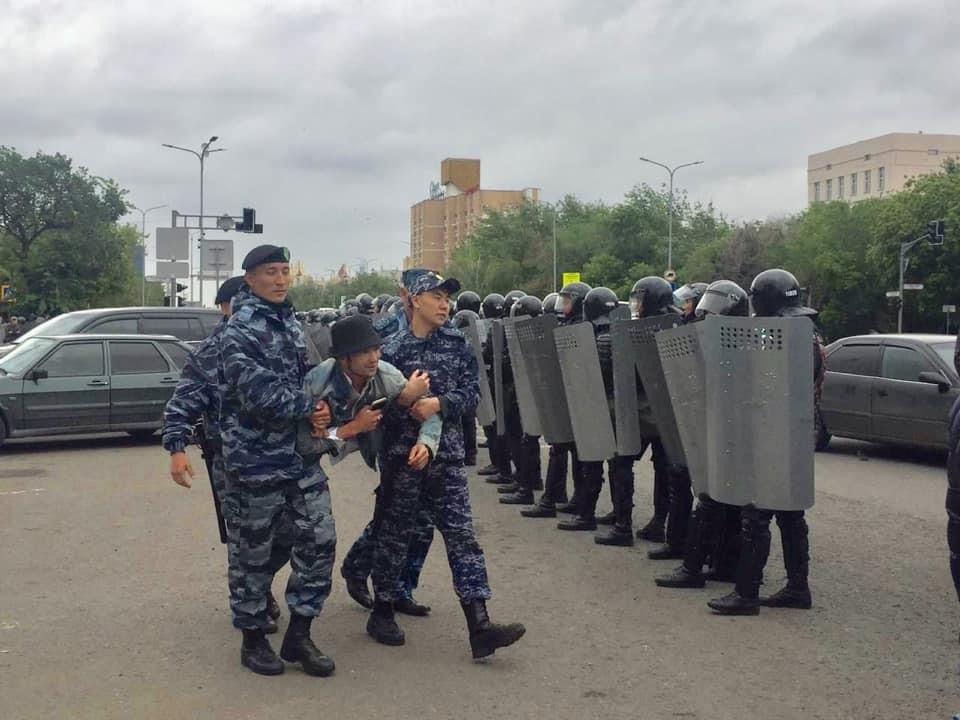 9 June 2019. Nur-Sultan. Photo: Ayan Kalmurat's page on Facebook