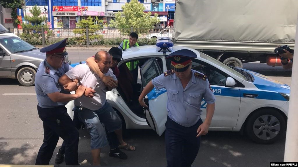 9 June 2019. Shymkent. Photo: Dilara Isa (RFE/RL)