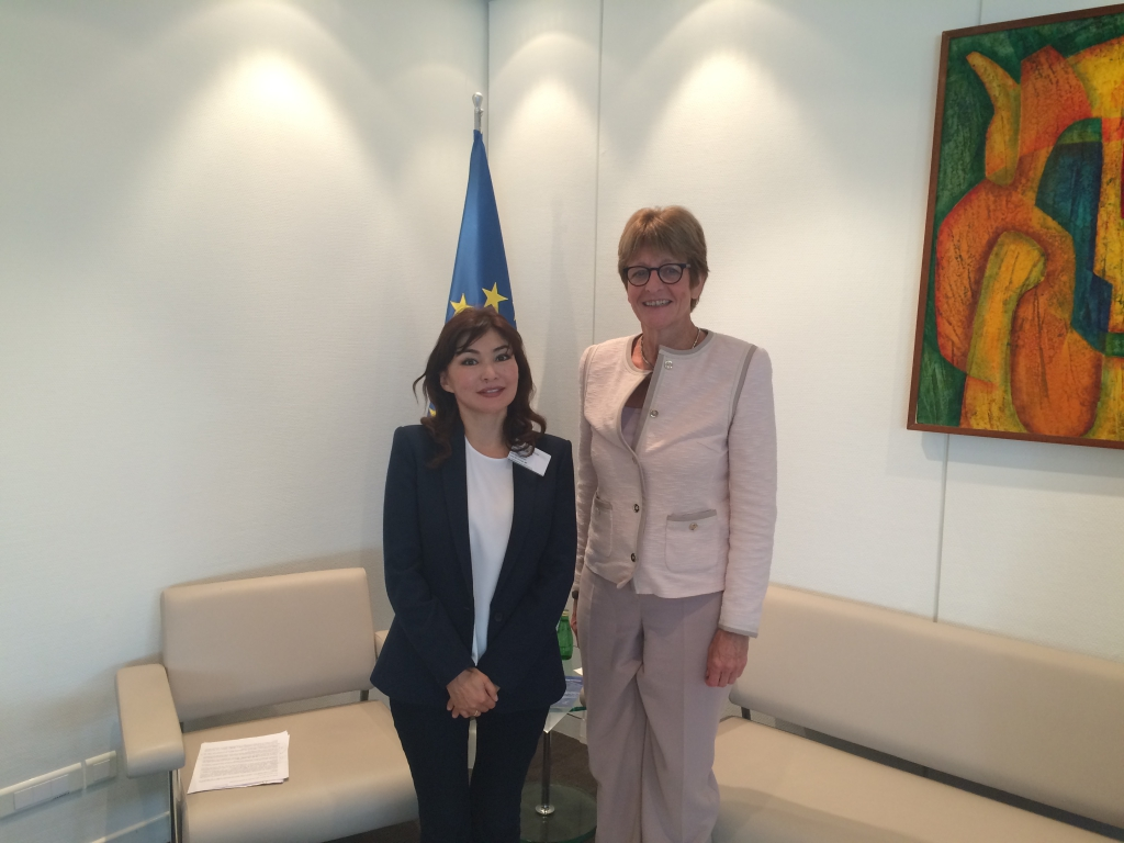 Alma Shalabayeva met with President of the PACE - Anne Brasseur