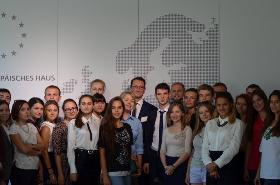 The meeting with Reinhard Hönighaus, the head of European Commission Delegation