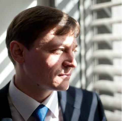 Igor Vinyavskiy, the editor of the 'Vzglyad' newspaper