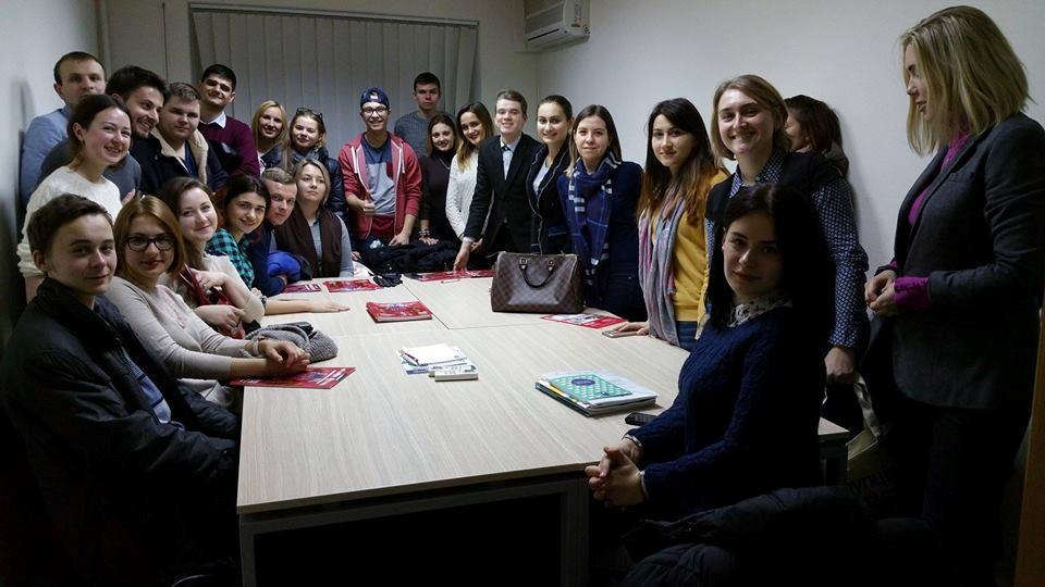 The meeting with Tetyana Shevchuk and Viktor Nestulya, Transparency International Ukraine